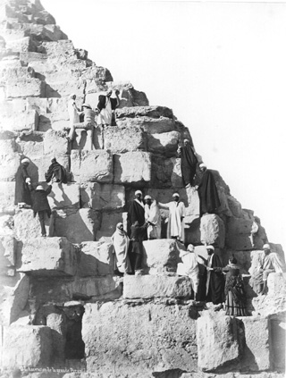 Sebah, J. P. (probably), Giza (c.1880