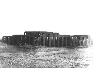 Hammerschmidt, W., The Theban west bank, the Ramesseum (1857-9