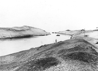 not known, Suez Canal (c.1880