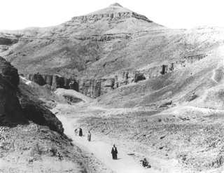 Sebah, J. P., The Theban west bank, the Valley of the Kings (c.1895