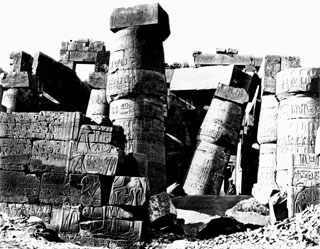 Bonfils, F., Karnak (c.1880