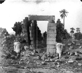 Beato, A., Karnak (c.1890 [Estimated date.]) (Enlarged image size=60Kb)