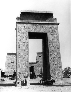 Beato, A., Karnak (c.1890 [Estimated date]) (Enlarged image size=45Kb)