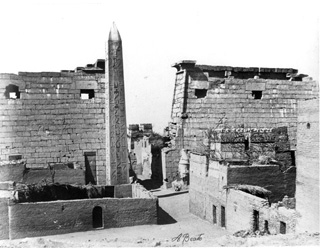 Beato, A., Luxor (c.1890 [Estimated date]) (Enlarged image size=49Kb)