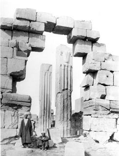 Beato, A., Karnak (c.1890 [Estimated date]) (Enlarged image size=48Kb)