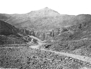 Sebah, J. P., The Theban west bank, the Valley of the Kings (before 1876