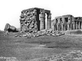 Sebah, J. P., The Theban west bank, the Ramesseum (before 1876