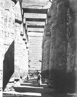 Sebah, J. P., Karnak (before 1876