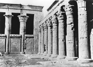 Sebah, J. P., Edfu (before 1876