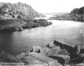 Sebah, J. P., The Nile and the islands in the vicinity of Philae (before 1876