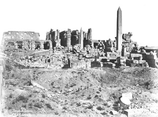 Sebah, J. P., Karnak (c.1875