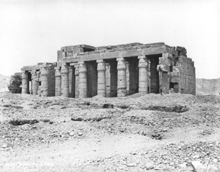 Sebah, J. P., The Theban west bank, the Ramesseum (c.1875