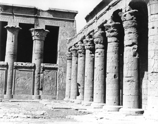 Sebah, J. P., Edfu (c.1875
