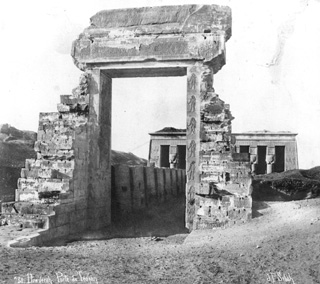 Sebah, J. P., Dendara (c.1890