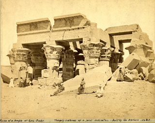 Good, F. M., Kom Ombo (c.1860 [Estimated date.]) (Enlarged image size=66Kb)