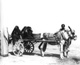 Click to see details of three women on a donkey-pulled...