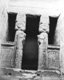 Click to see details of tne temple of hathor. the facade and...