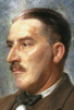 Portrait painted by brother William Carter in 1924