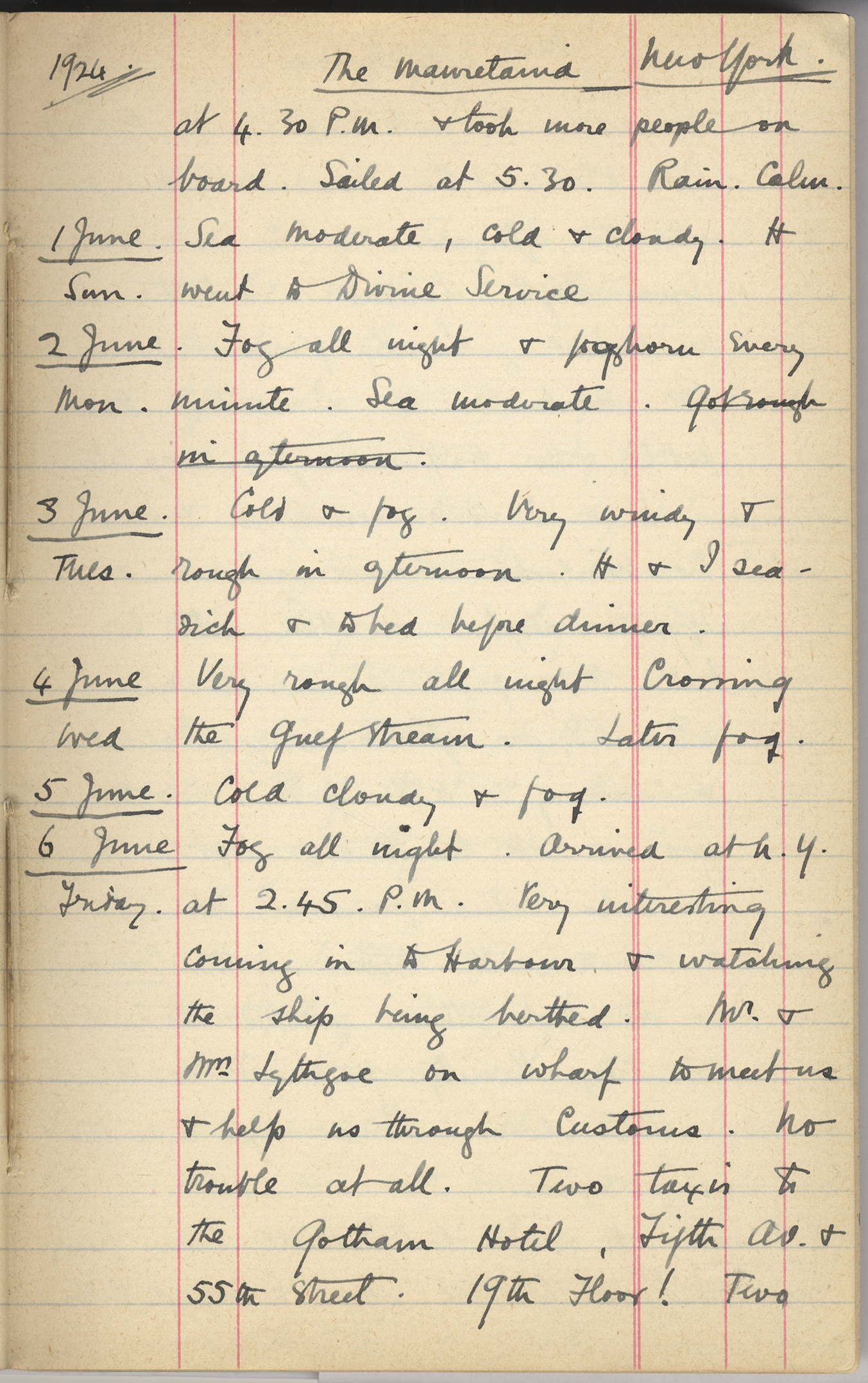 the griffith institute - minnie c. burton's diary in the griffith